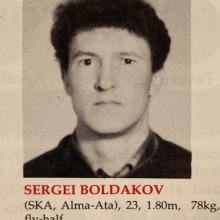 Sergei Boldakov.