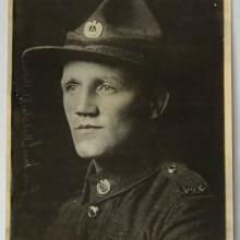 Sergeant Henry Nicholas. Photo: Te Papa Collections Online
