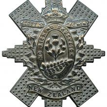 Badge of the New Zealand Scottish Regiment.