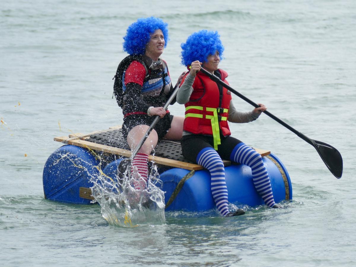 Big River raft title hard-won