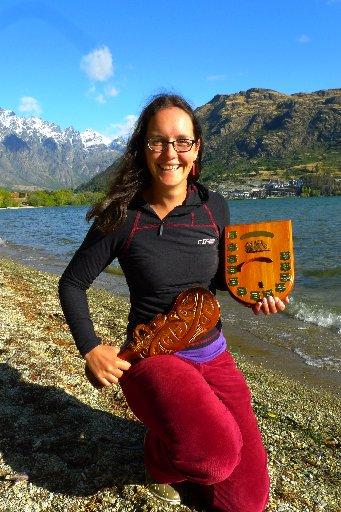 Paraglider top woman in country