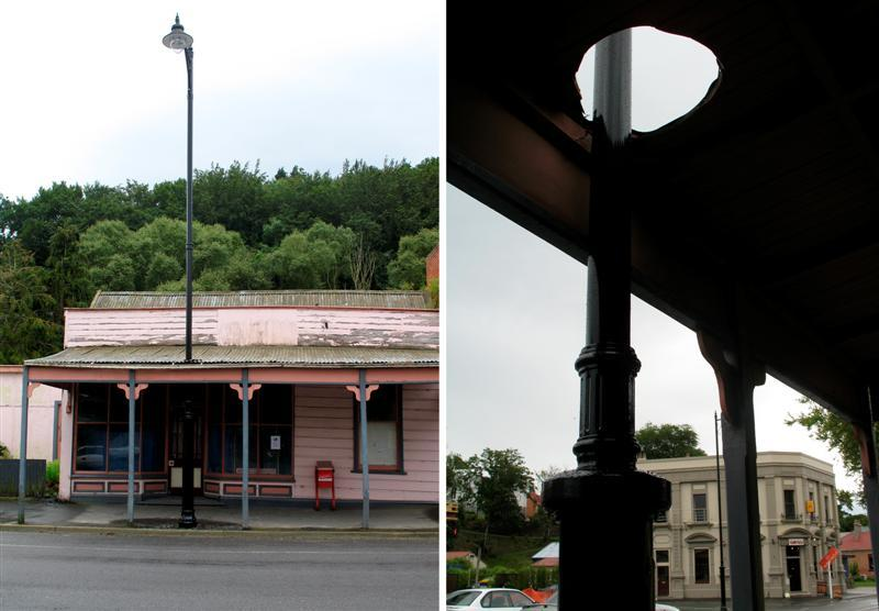 Lamppost generating hole lot of talk | Otago Daily Times Online News