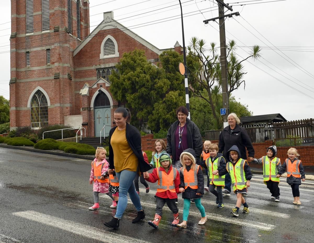Kindergarten poised to move up hill