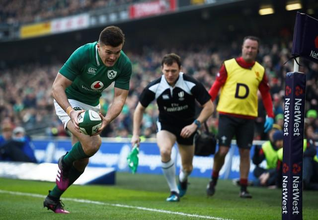Ireland sustain stellar start in wild win over Wales