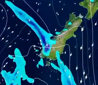 Heavy rain on way for Fiordland, West Coast