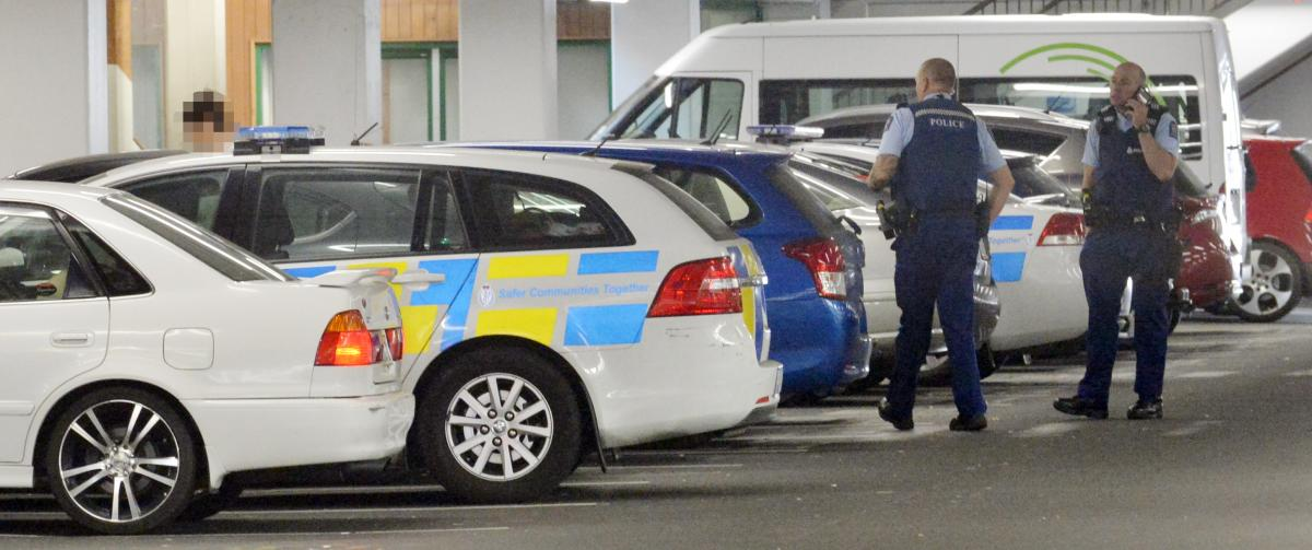 Arrest after BB gun 'pointed at police' from car