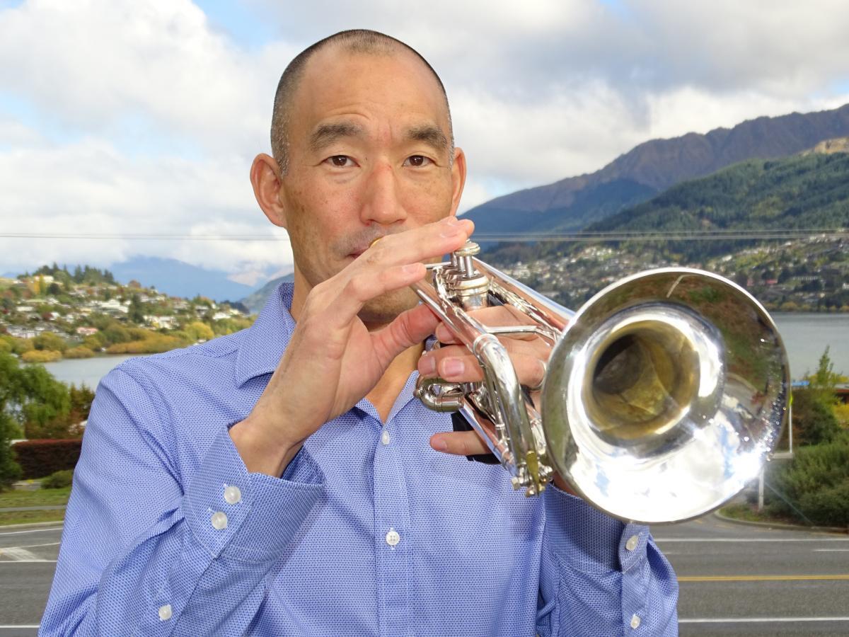 New dawn service trumpeter