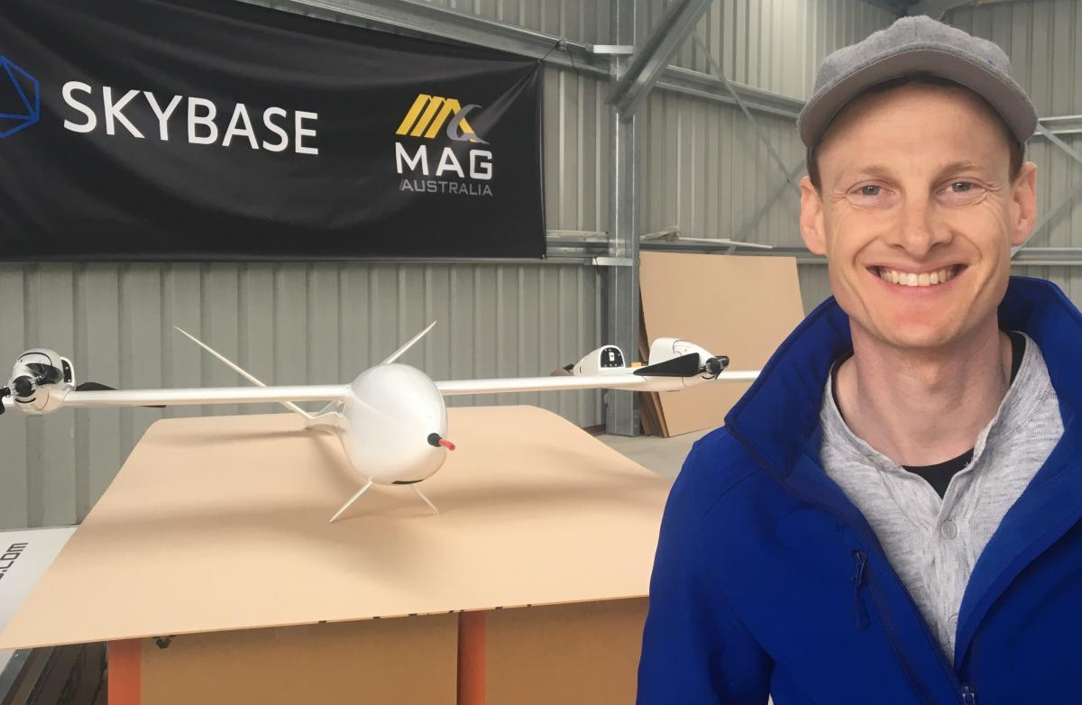 Pioneering drone technology showcased