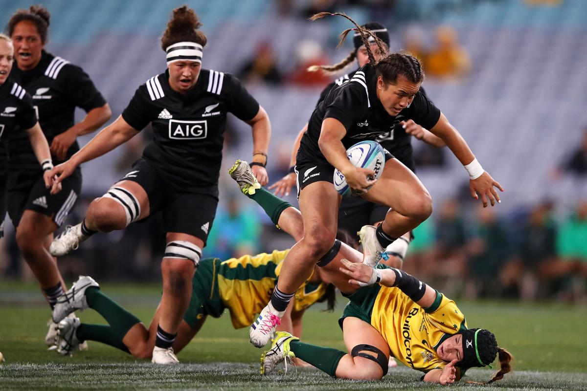 Black Ferns ease past Wallaroos