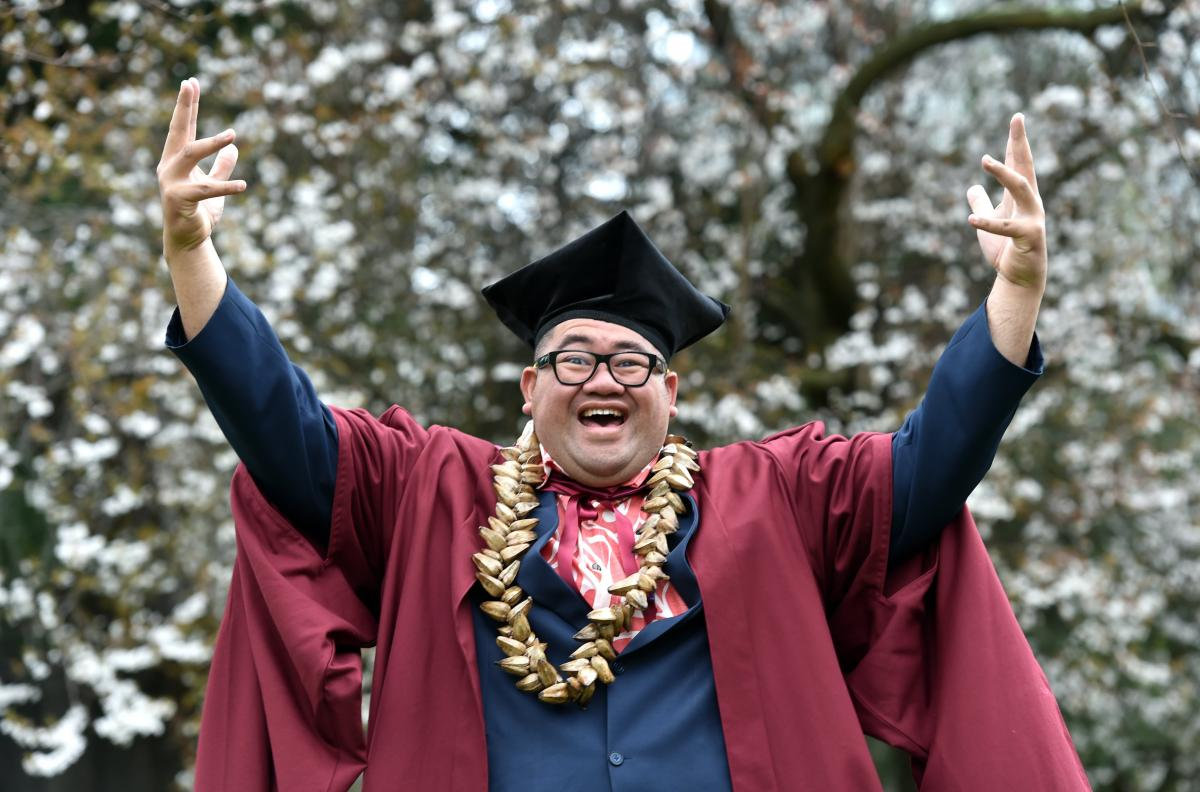 PhD marks two firsts for Samoan student