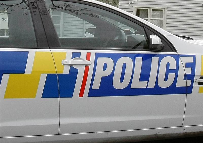 Crash knocks down pole near Port Chalmers