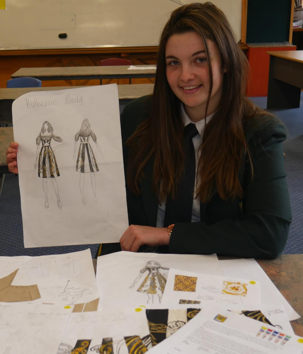Bayfield pupil's costume design to show in London