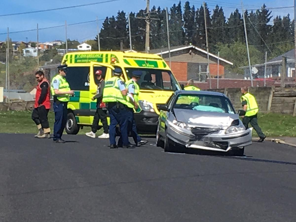 Dunedin police pursuit ends in crash
