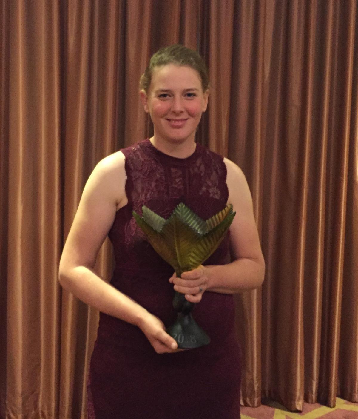 Central Otago woman takes horticulture title