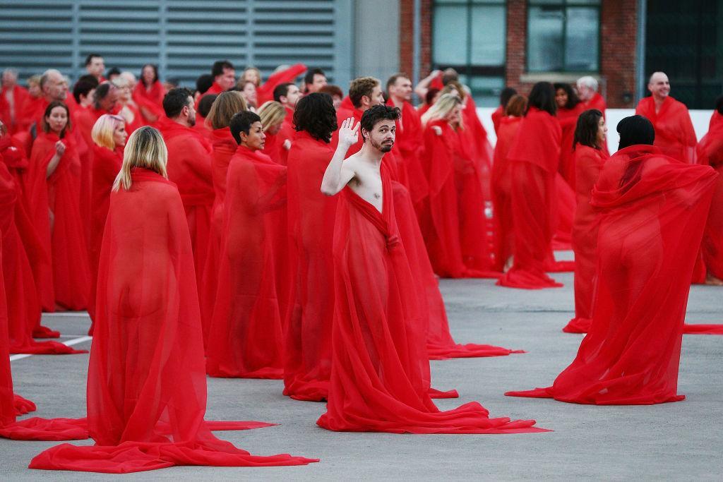 US artist reveals Melbourne nudes