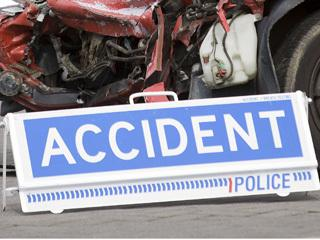Two critical after car and motorcycle crash
