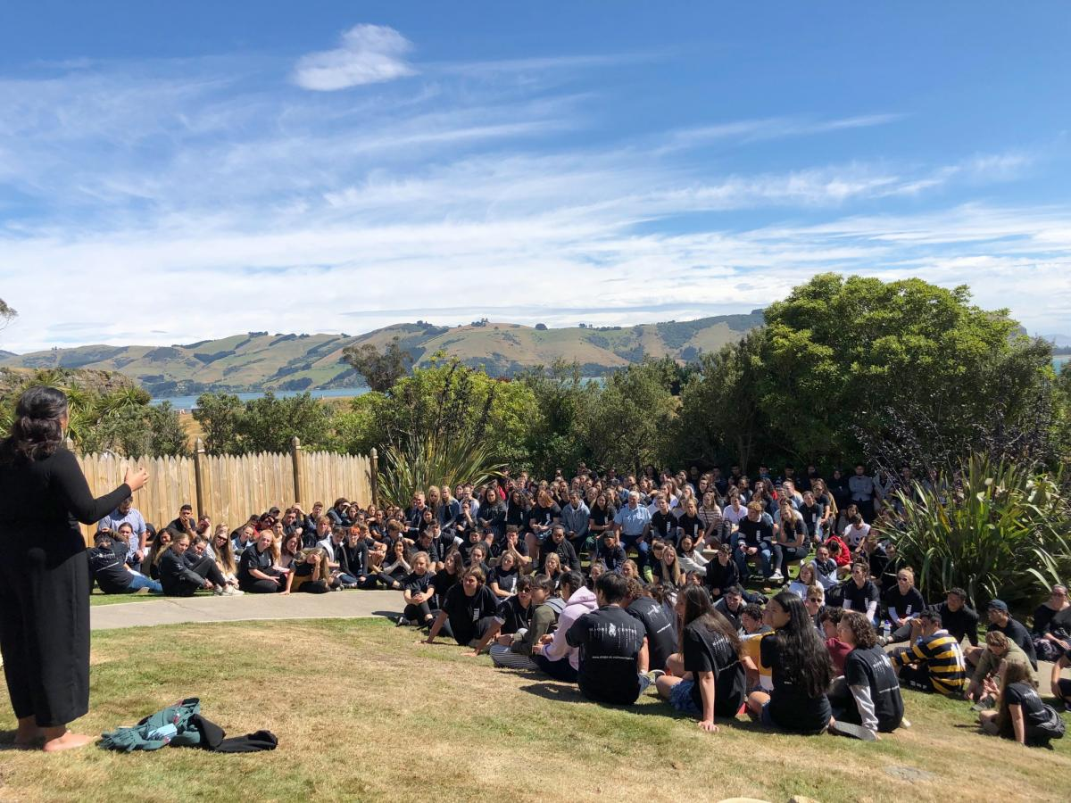 Maori students 'from the four winds' given welcome