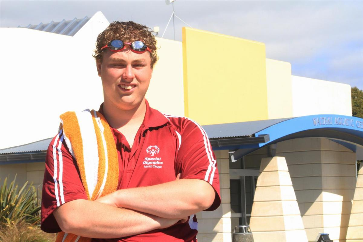 Athlete keen to swim for supporters at world games
