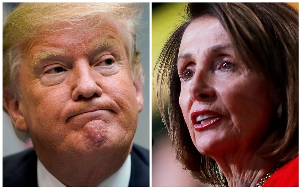 Trump vows veto as Democrats try to stop wall