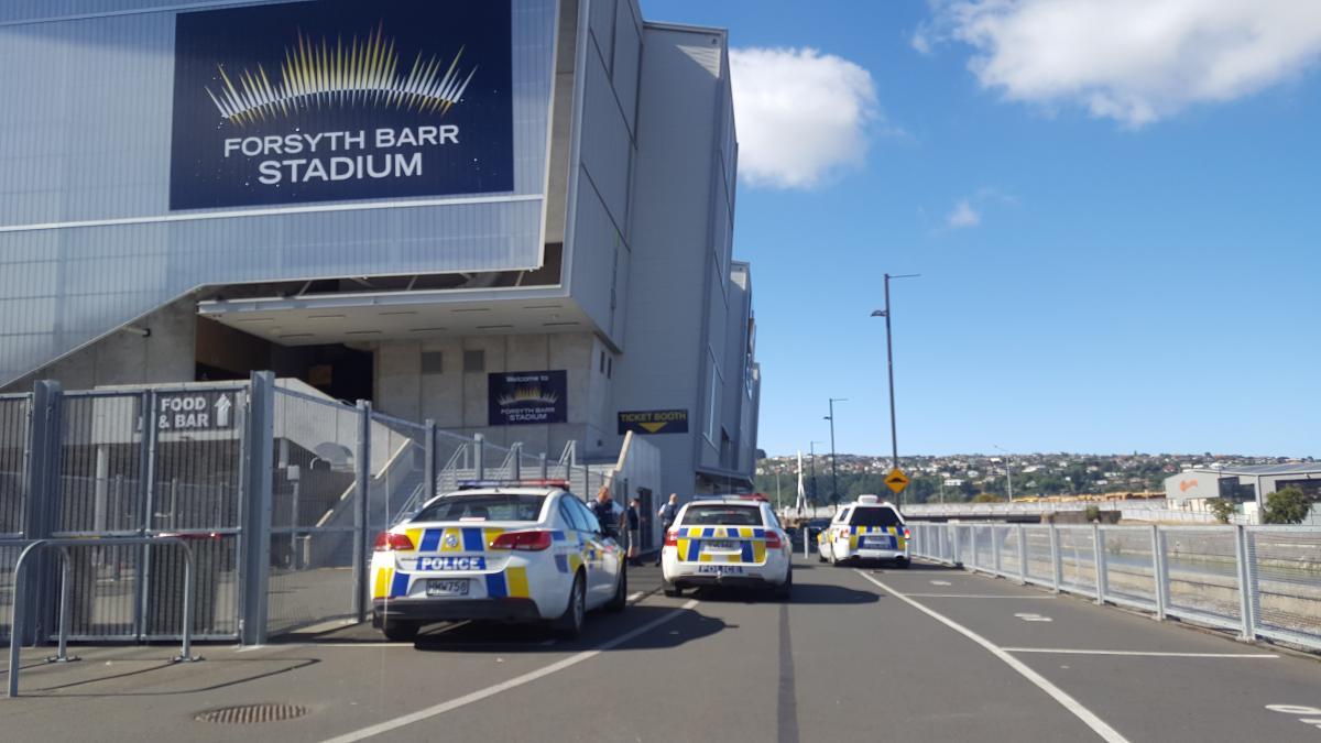 No threat over Forsyth Barr Stadium incident