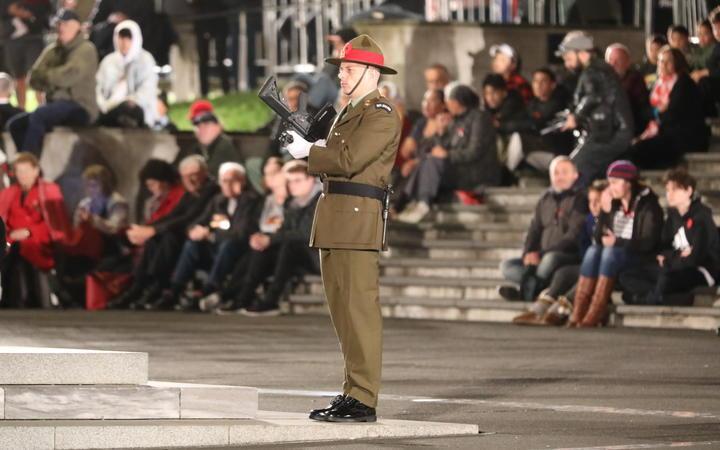 Chch attacks hang heavily over Anzac dawn services