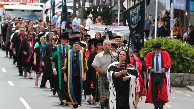 University of Auckland graduation march cancelled