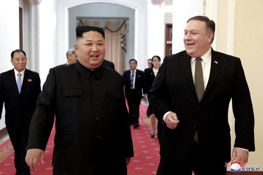 N Korea says it tested new weapon, wants Pompeo out of talks