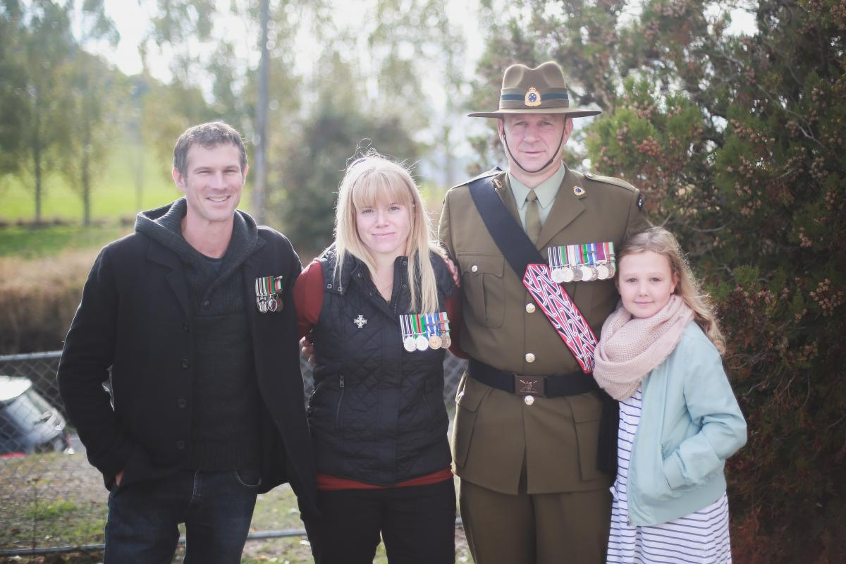 Ex-chef retains army connection