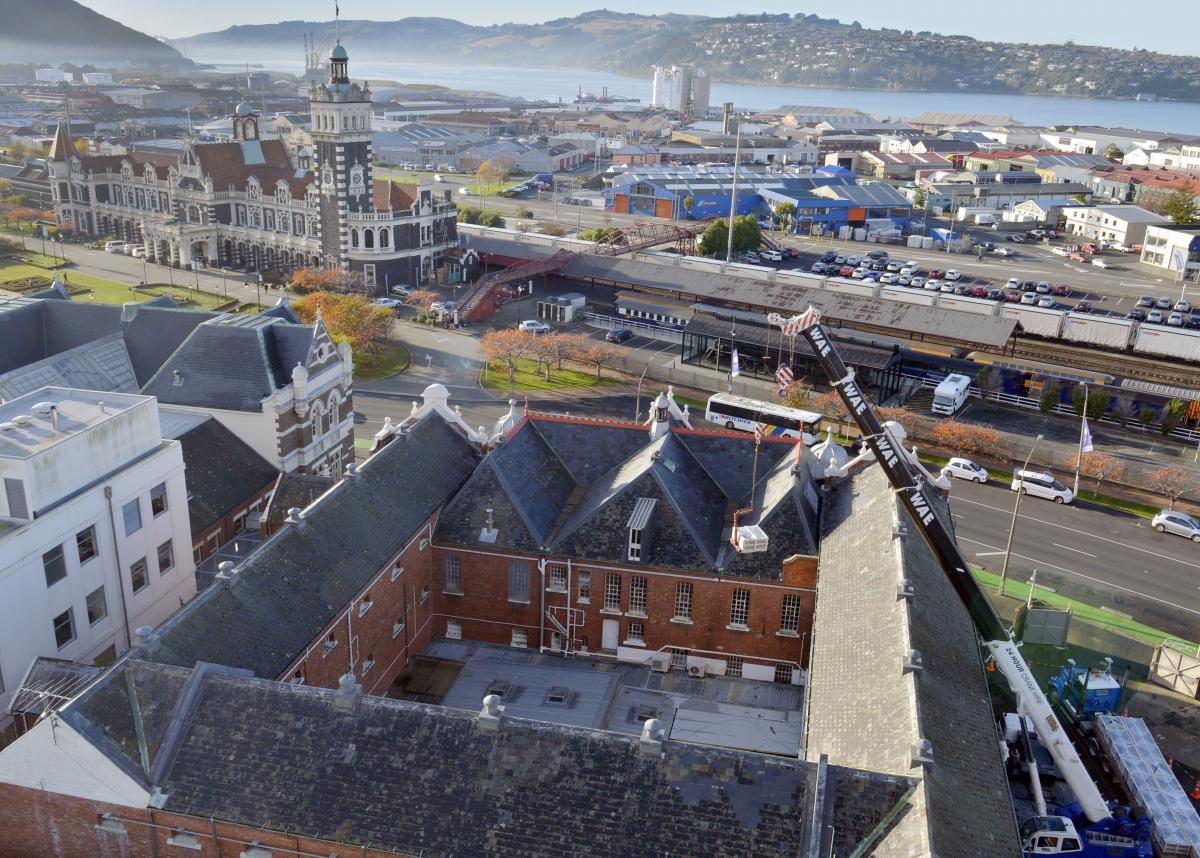 Spanish Roofing Slate Safely Behind Bars Otago Daily