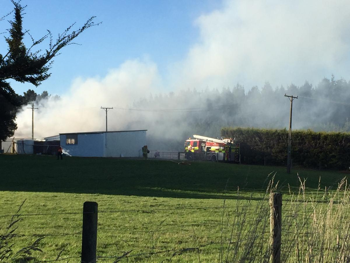 Firefighters battle Invercargill house fire