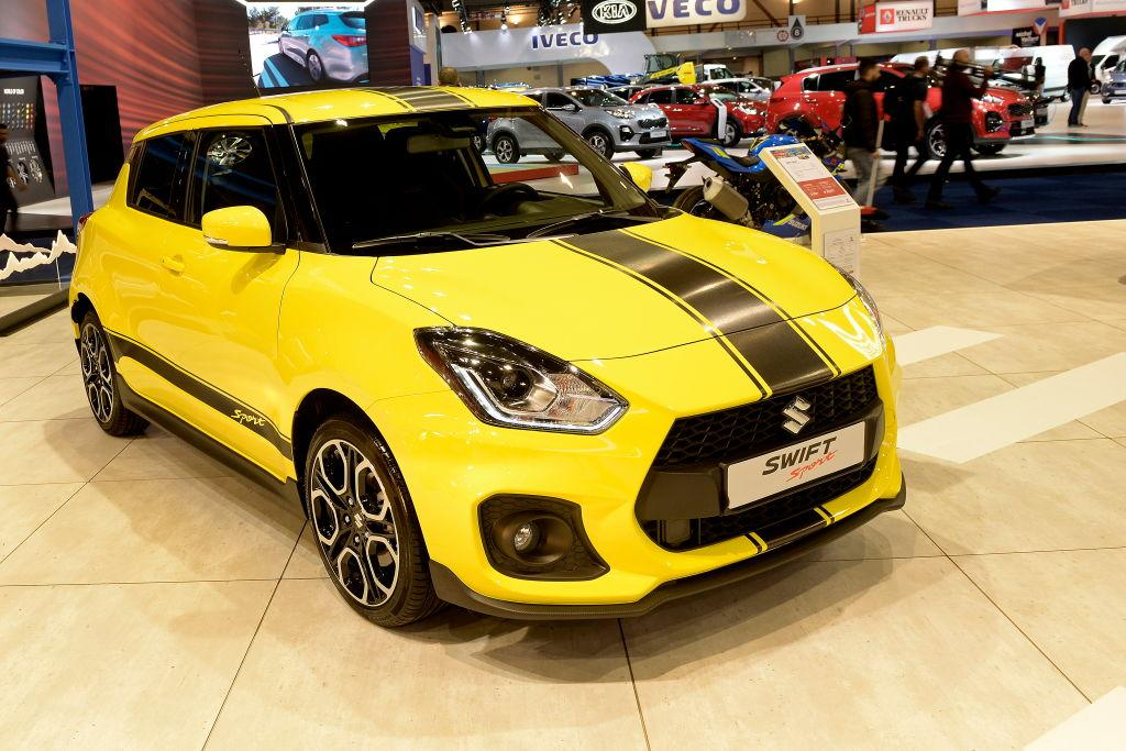 Suzuki defends safety of Swift