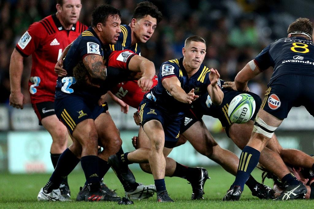 Crusaders handed big advantage for Highlanders clash