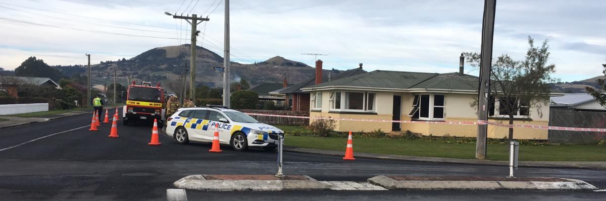 Man found dead after Mosgiel house fire named