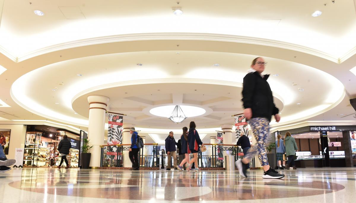 Meridian Mall placed on market