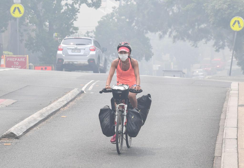 More haze for Sydney as bushfire conditions worsen