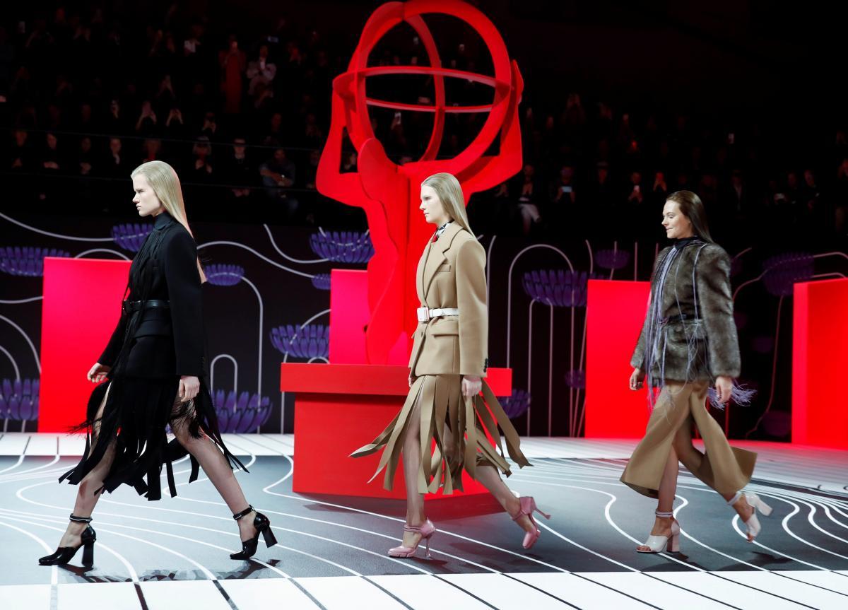 Prada challenges definition of femininity