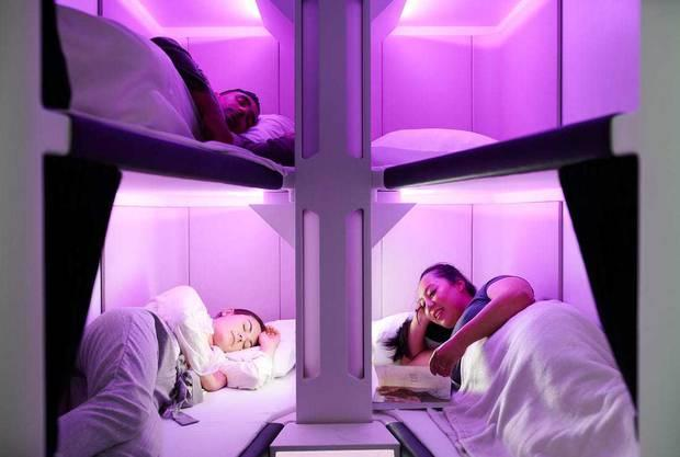Air NZ to offer economy sleep pods