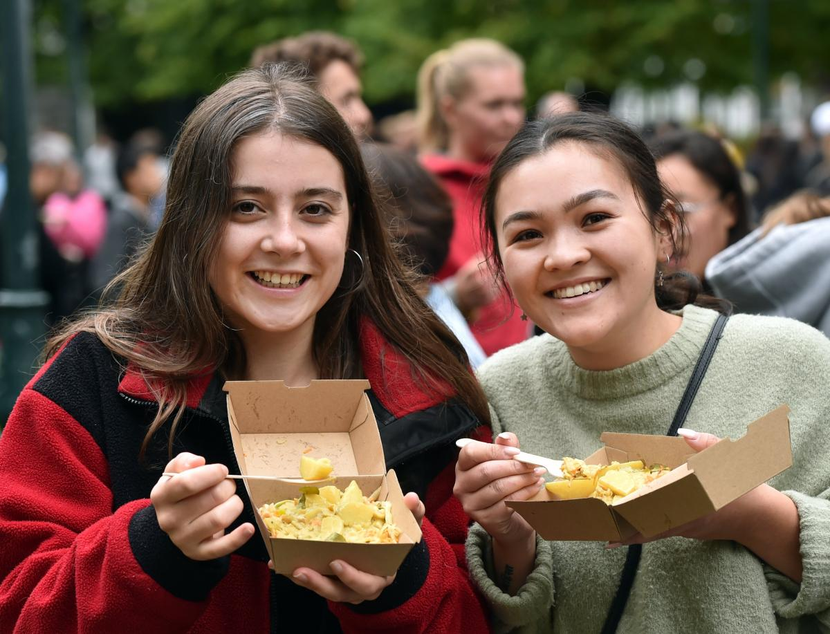 Diverse student body showcases cuisine of many cultures