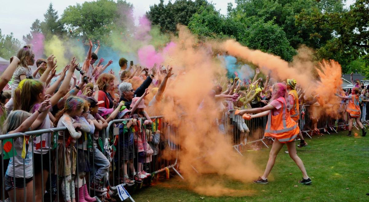 Festival guarantees a colour splash