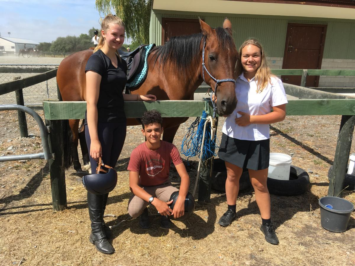 Horse pursuits draw overseas students