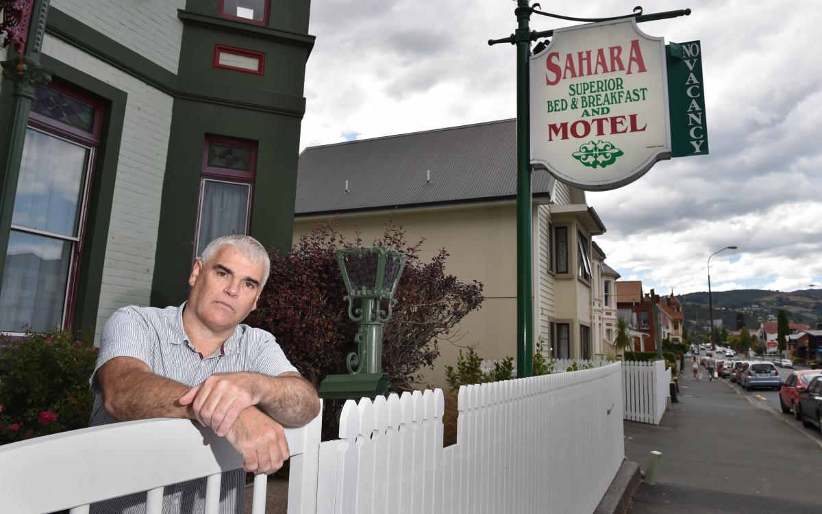 Motel owner sick of noisy parties, mess