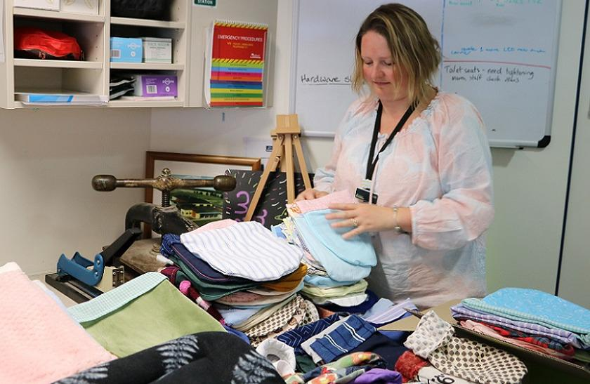Knitted and stitched items distributed to bushfire-hit wildlife