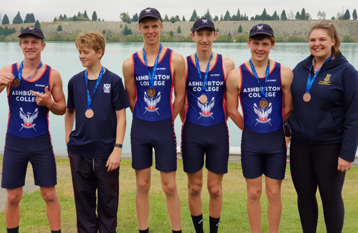 Rowers in the medals