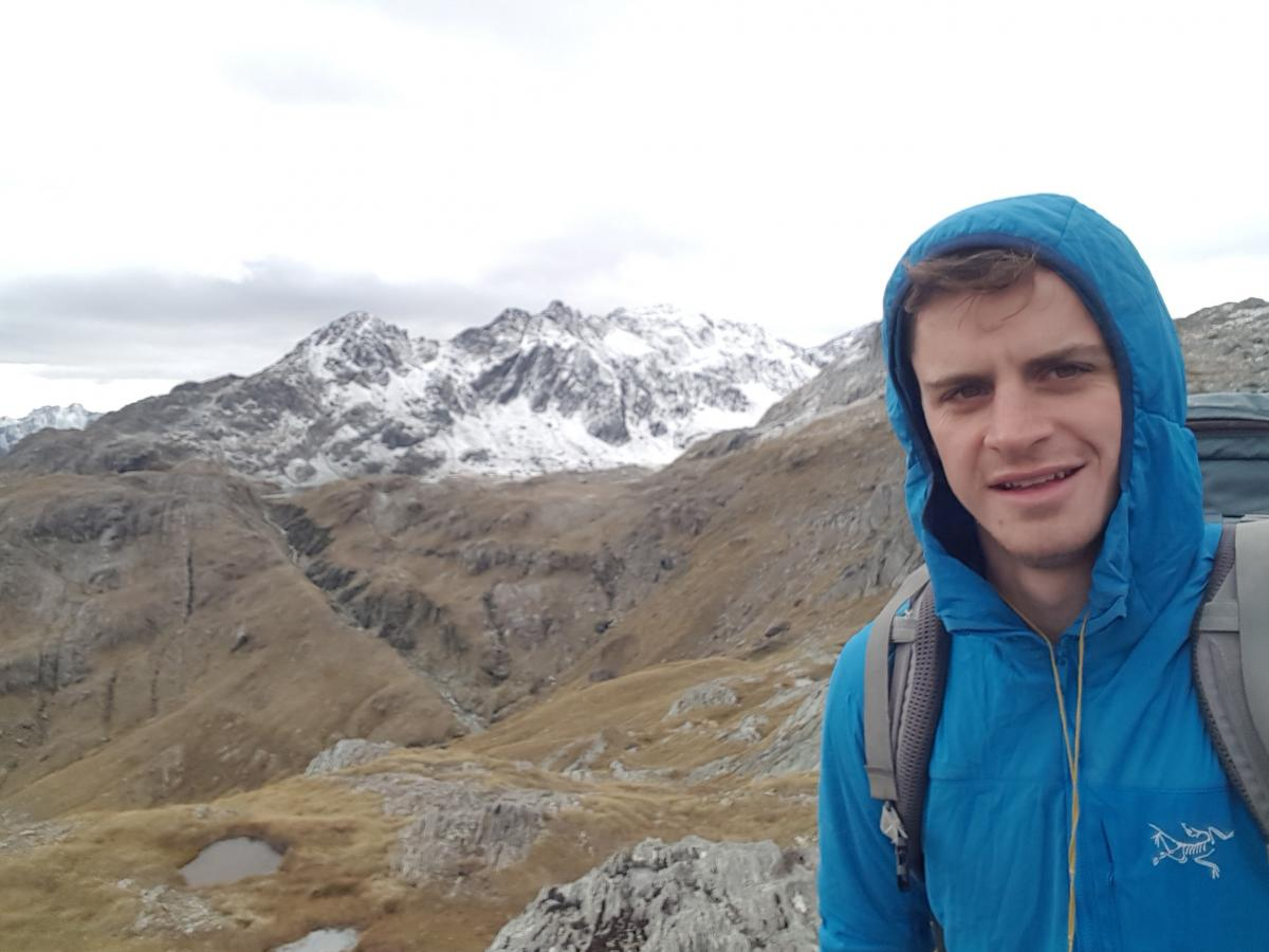 Solo tramper returned to find world had changed