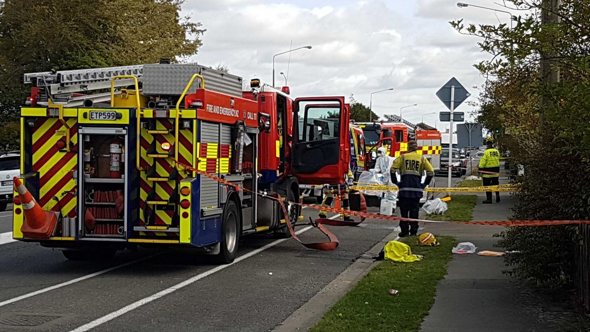 firefighter may be tested for covid