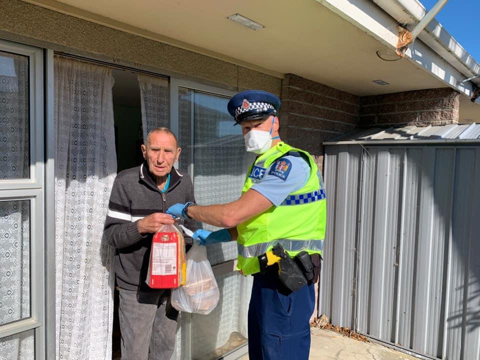 Essential workers come together to help elderly Southland man