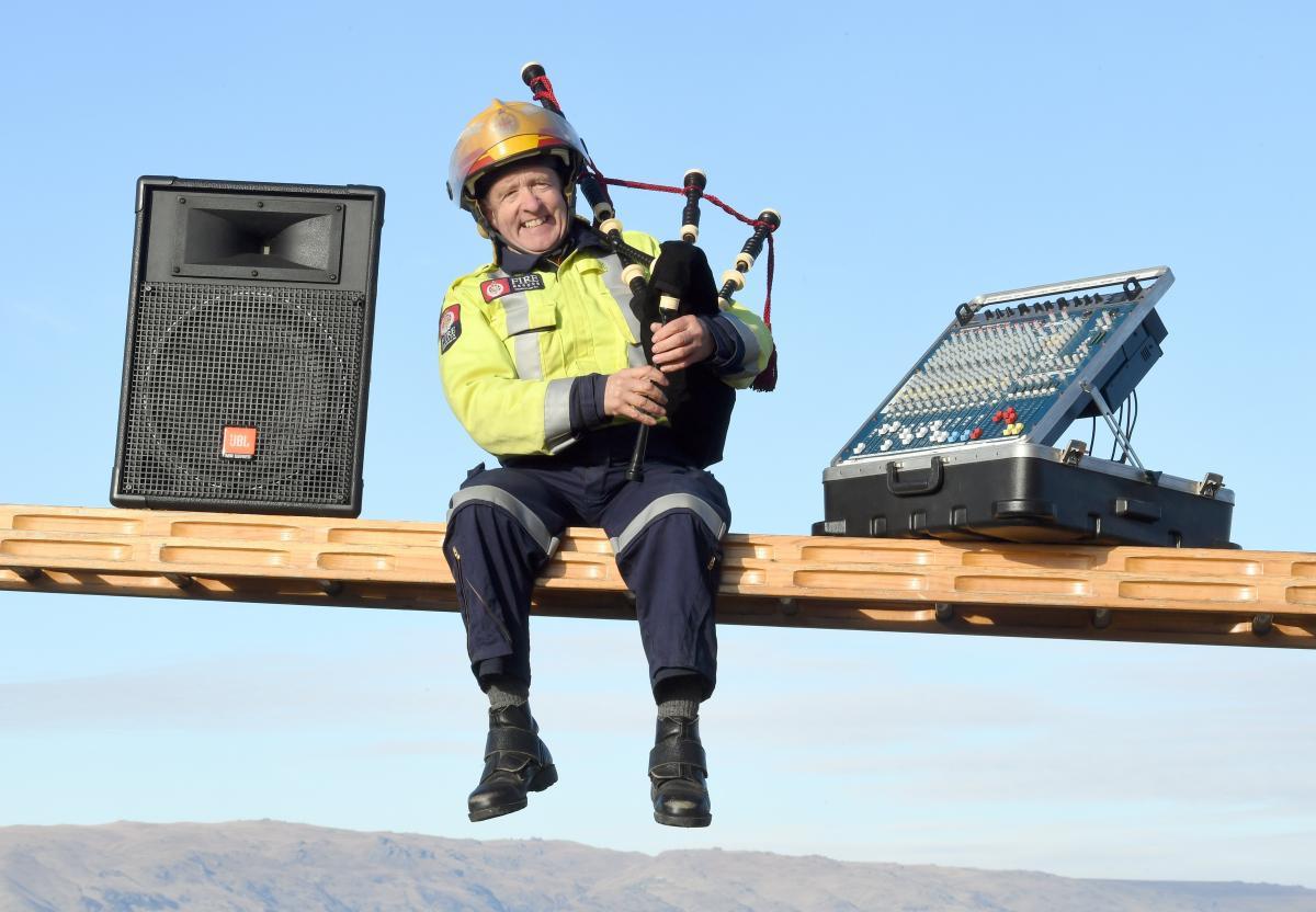 Sound system role tipped scale, QSM recipient reckons