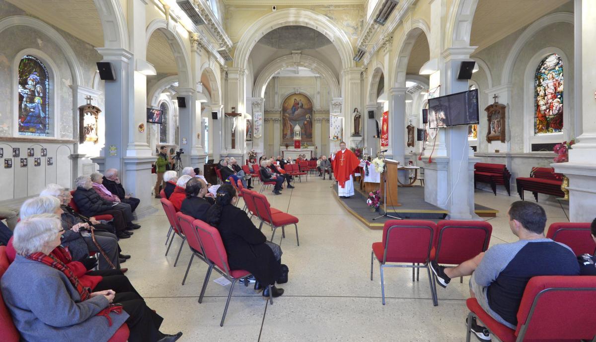 Joy marks first celebration of Mass since lockdown