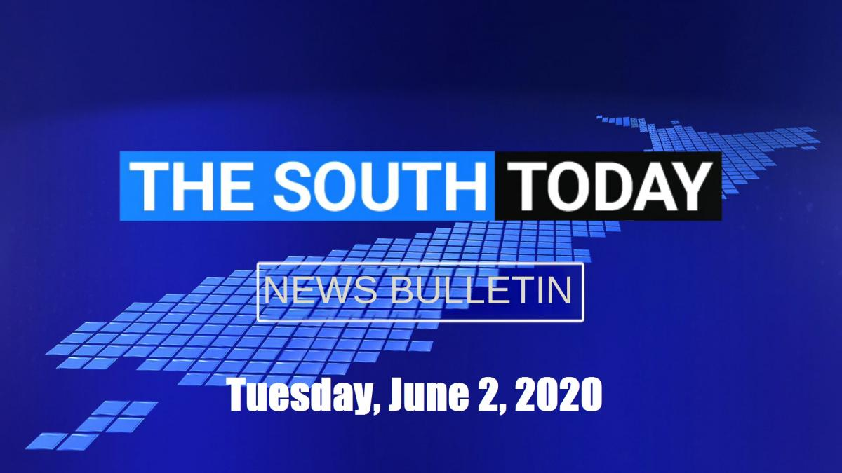 The South Today bulletin: Tuesday, June 2