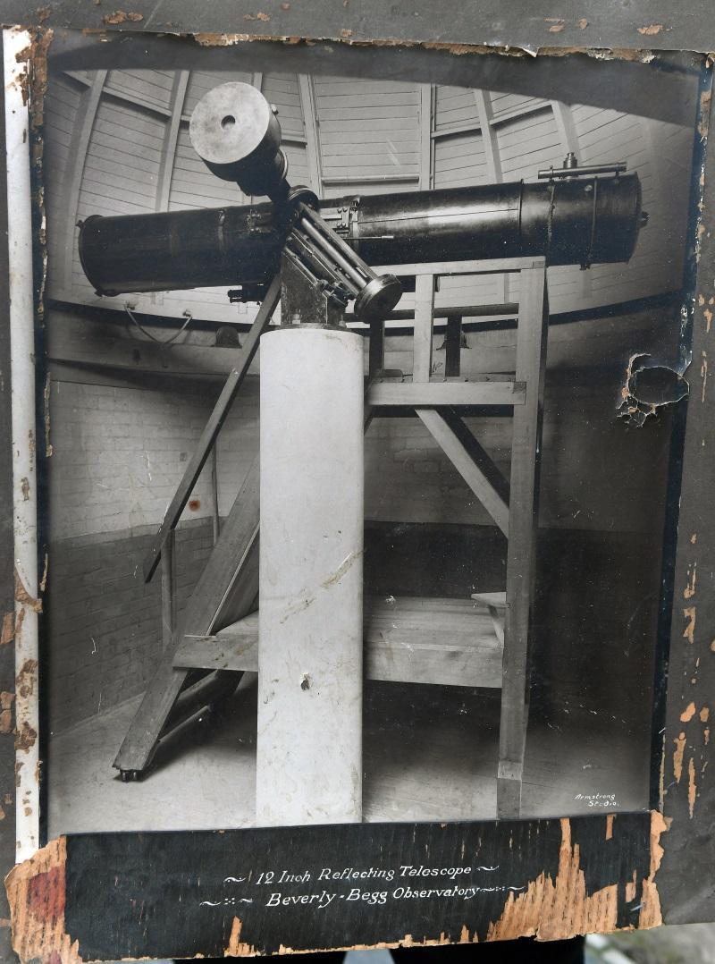 Original telescope returns to city observatory